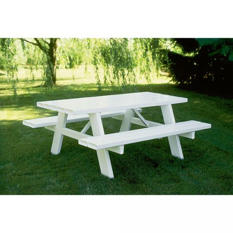 Superior Vinyl Picnic Table