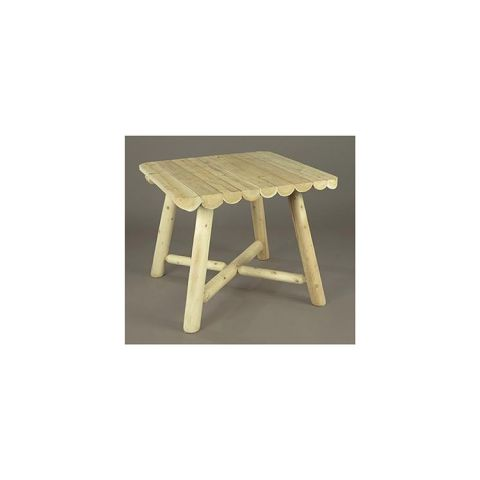 Rustic Cedar Furniture Large Square Dining Table