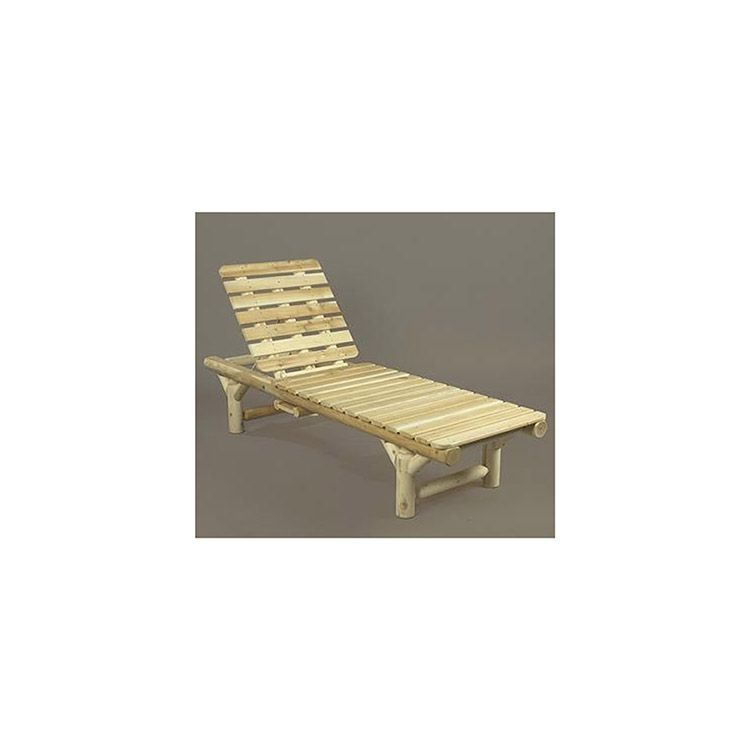 Rustic Cedar Furniture Lounge Chair