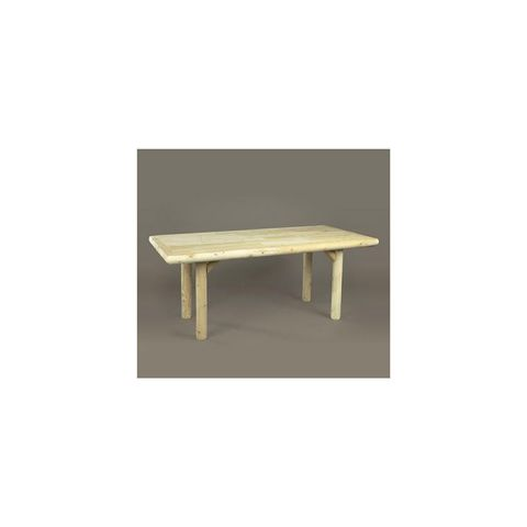 Rustic Cedar Furniture Solid Top Family Dining Table