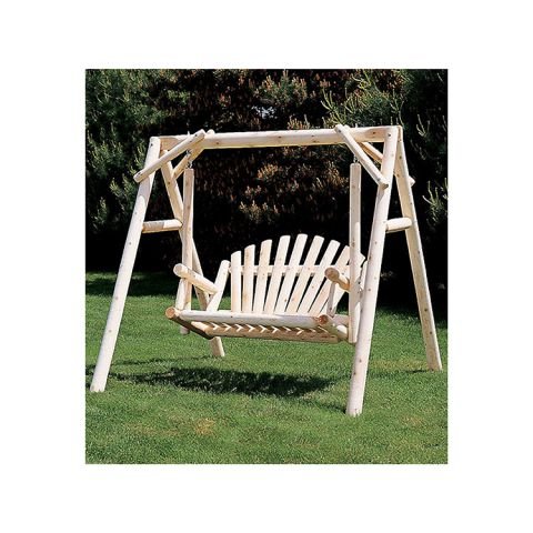 Rustic Cedar Furniture 5' American Garden Swing