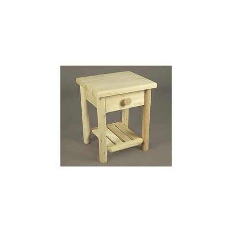 Rustic Cedar Furniture Night Table