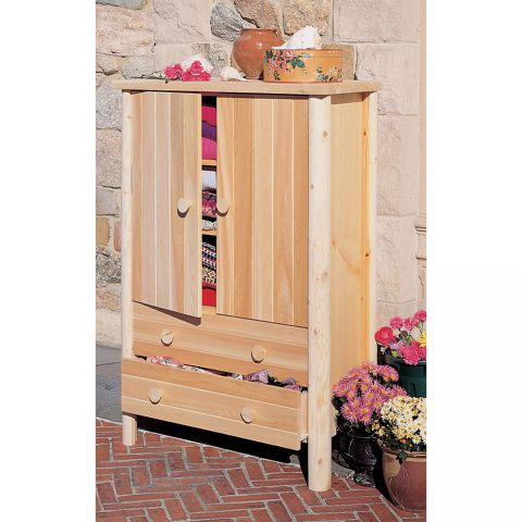 Rustic Cedar Furniture Armoire