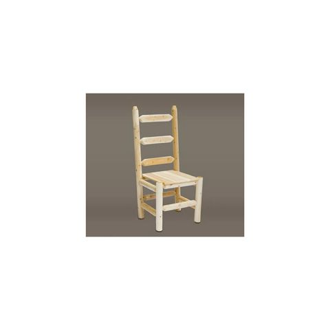 Rustic Cedar Furniture Ladder Back Chair