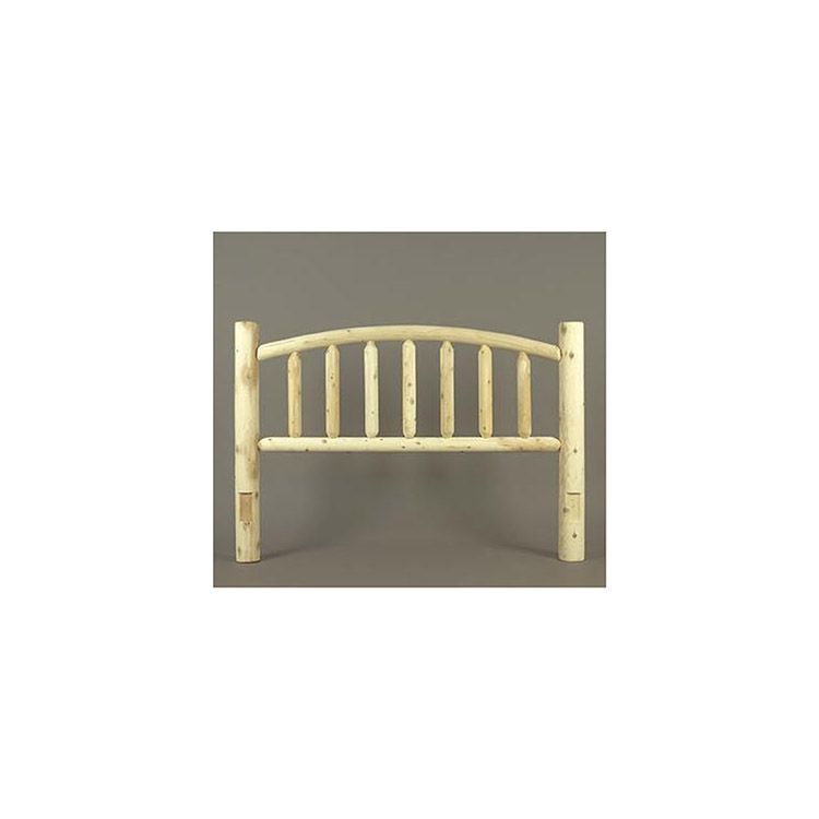 Rustic Cedar Furniture Arched Bed Headboard