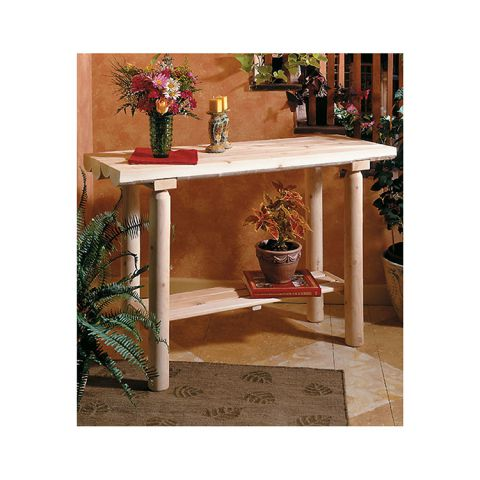 Rustic Cedar Furniture Sofa Table