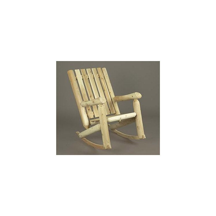 Rustic Cedar Furniture High Back Rocker