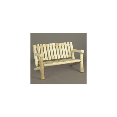 Rustic Cedar Furniture Settee, 4 foot
