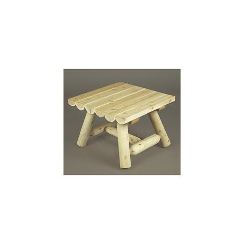 Rustic Cedar Furniture Square Coffee Table