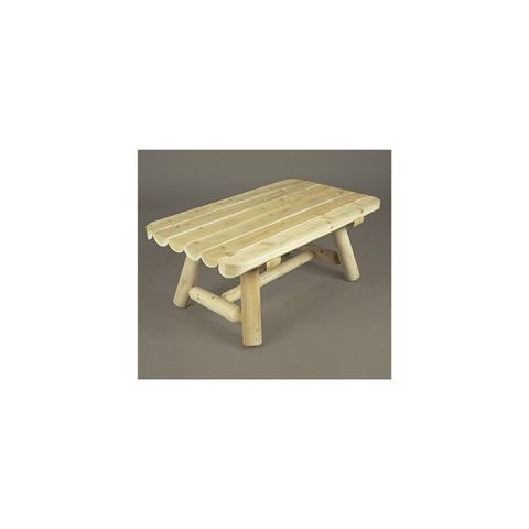 Rustic Cedar Furniture Rectangular Coffee Table