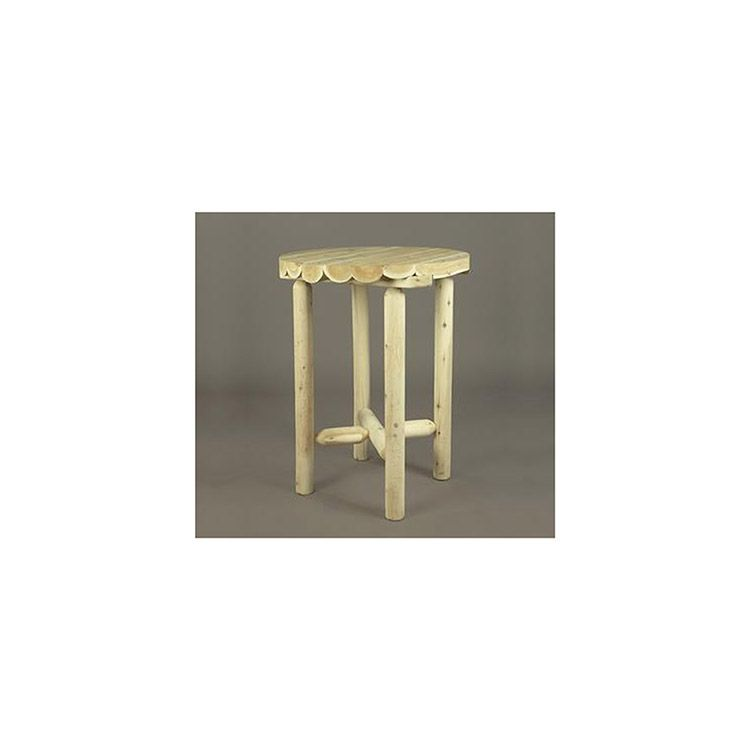Rustic Cedar Furniture Bistro Table