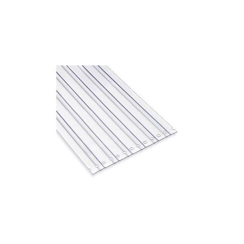 Chase Doors Bulk Rolled PVC Strips - Standard Clear LOC-RIB Material