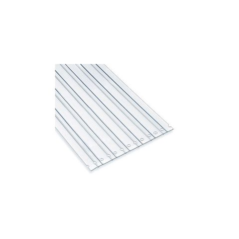 Chase Doors Bulk Rolled PVC Strips - USDA Low-Temp LOC-RIB Material