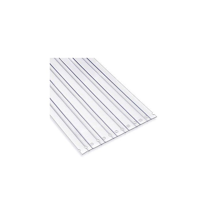 Chase Doors PerfaStrip PVC Strips - Standard Clear LOC-RIB Material