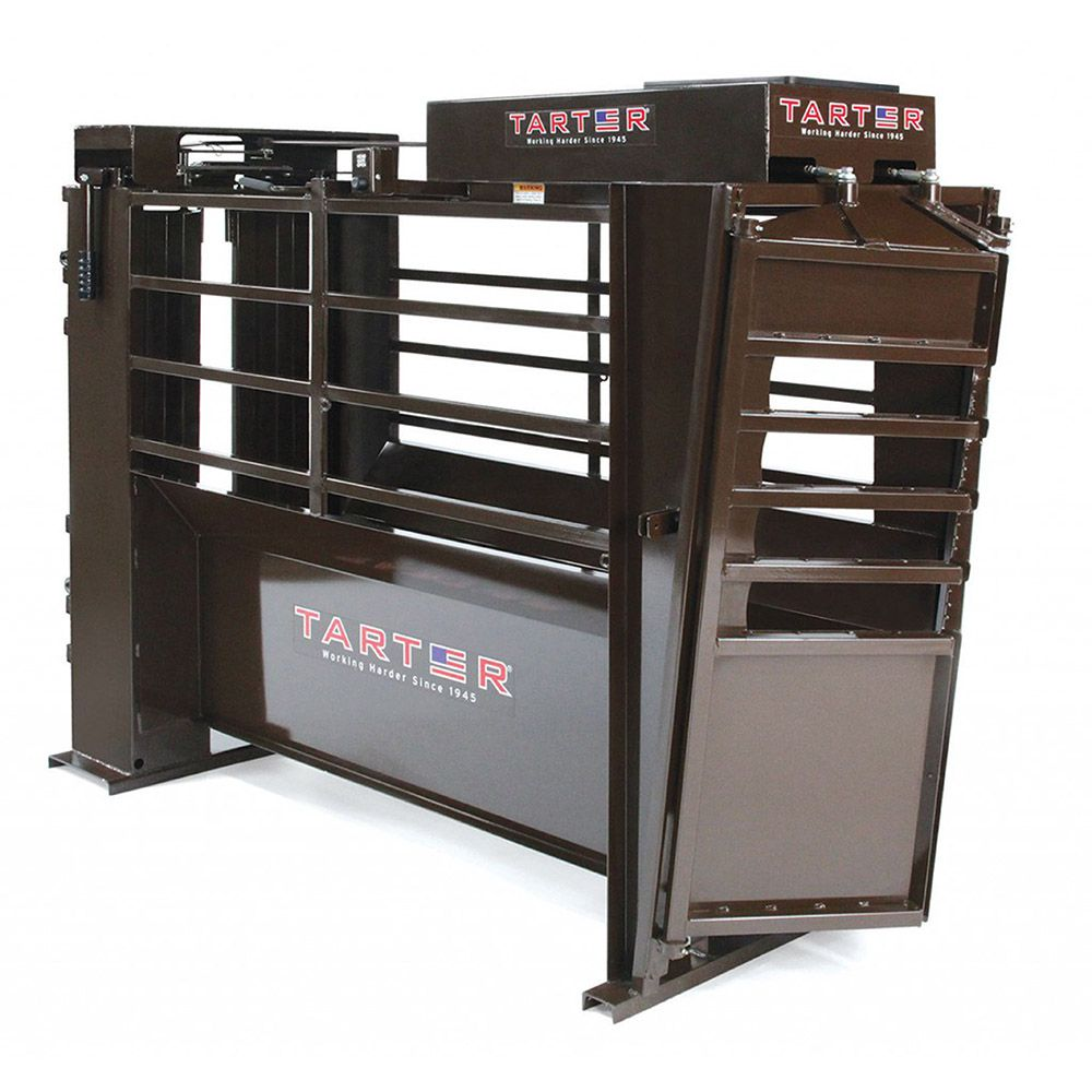Tarter Electric Roping Chute w/ Remote Headgate