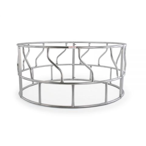 Tarter 3-Piece Galvanized S-Bar Round Bale Hay Feeder