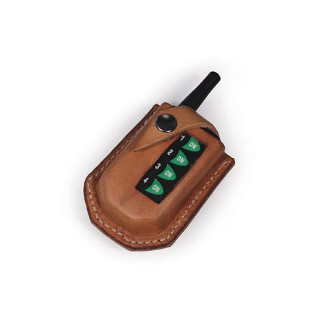 Tarter Handmade Leather Single Button Remote Holder