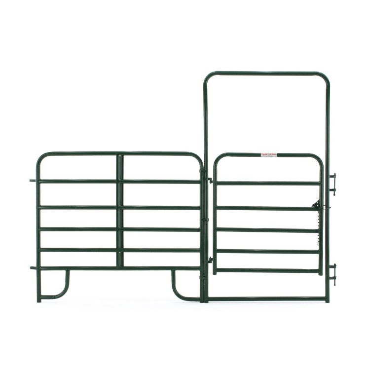 Tarter Walk-Thru Arched Gate w/ Panel - Economy