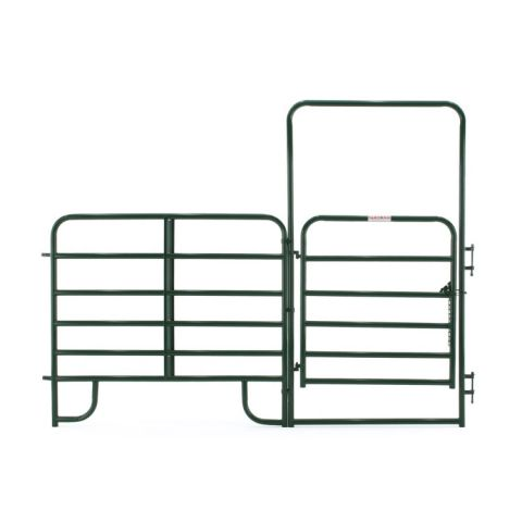 Tarter Walk-Thru Arched Gate w/ Panel - Heavy Duty