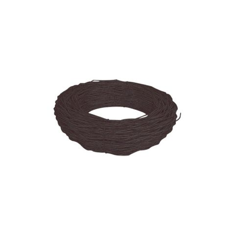 Chain Link Fence Tension Wire - Black, Brown, and Green