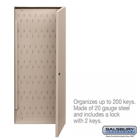 Salsbury Key Cabinet with two keys