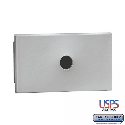 Salsbury Key Keeper, recessed mounted aluminum finish, USPS access