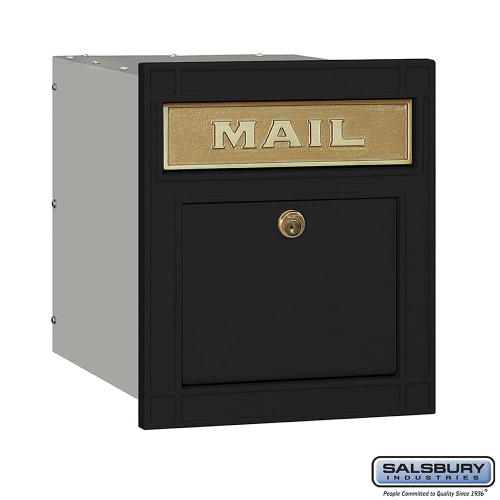 Salsbury Column Mailbox, with slot