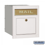 Salsbury Column Mailbox, with slot (4145-P)