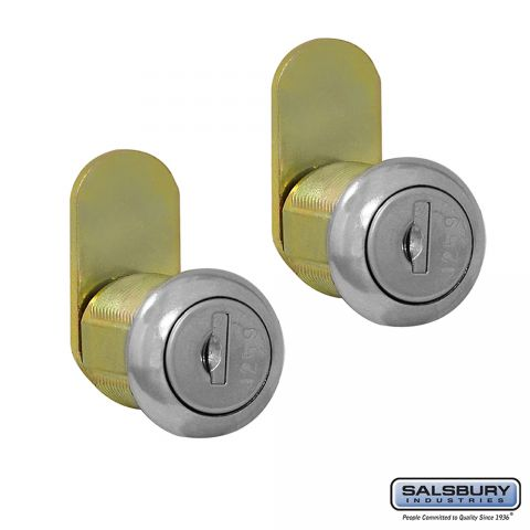 Salsbury Lock - Standard Replacement for Mail Chests and Roadside Mailboxes - with (2) keys