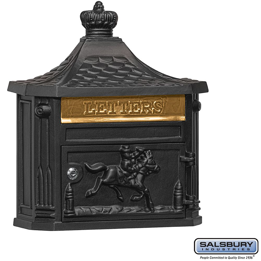 Salsbury Victorian Mailbox - surface-mounted