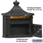 Salsbury Victorian Mailbox - surface-mounted (4460-P)