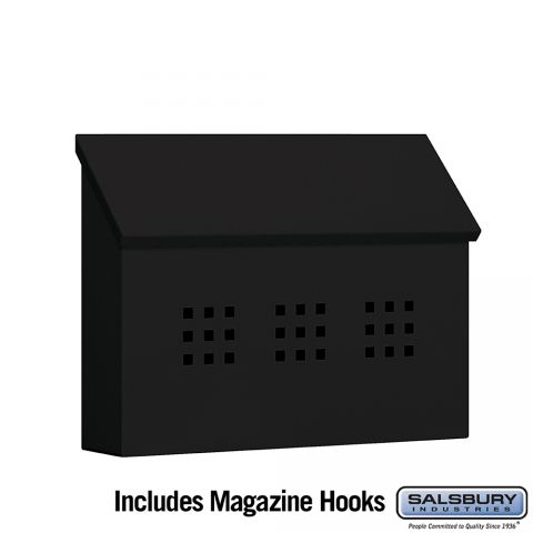 Salsbury Traditional Decorative Mailbox - Horizontal