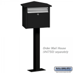Salsbury Mail House Post - Bolt Mount (4765-P)