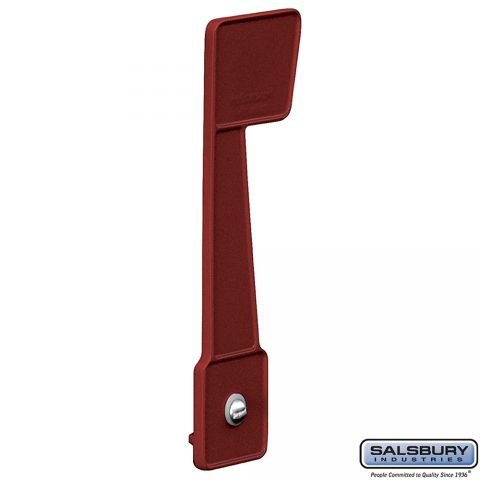 Salsbury Deluxe Replacement Mailbox Flag - Burgundy