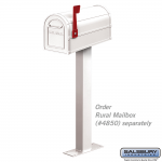 Salsbury Standard Mailbox Post - Bolt-Mounted (4865-P)