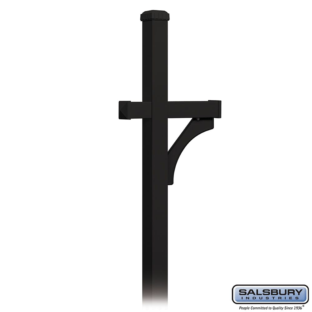 Salsbury Deluxe Mailbox Post, 1-Sided