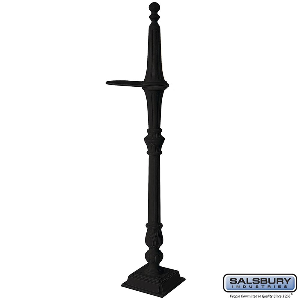 Salsbury Classic Mailbox Post 1-side - bolt-mount