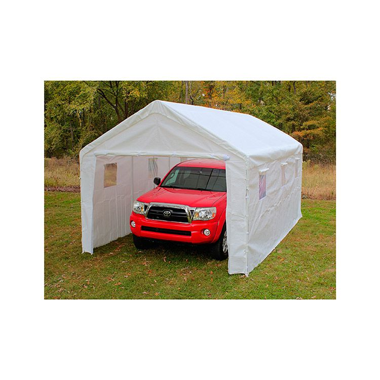 King Canopy 10' x 20' Universal Canopy Enclosed - White