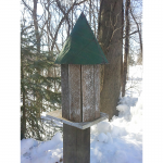 Small Round Tower Bird House (ABP-27)