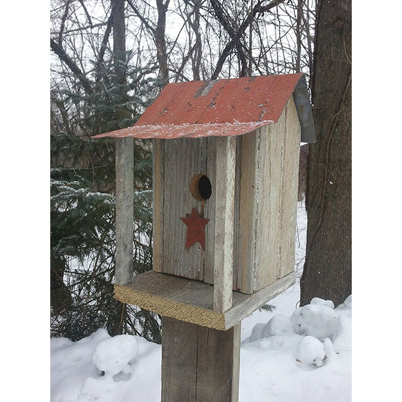 House with Porch Bird House