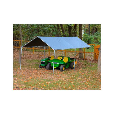 King Canopy 10' x 20' King Canopy 6 Leg - Silver