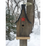 Wren Steeple Bird House (ABP-67)