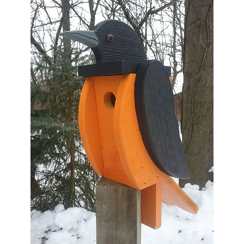 Baltimore Oriole Look Alike Bird House Hoover Fence Co