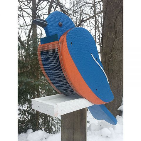 Bluebird Look-Alike Bird Feeder