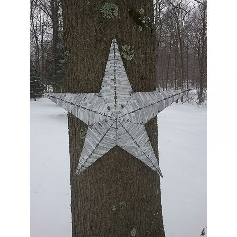"30"" Handmade Tin Star"