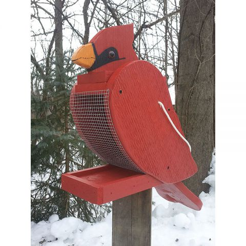 Cardinal Look-Alike Bird Feeder