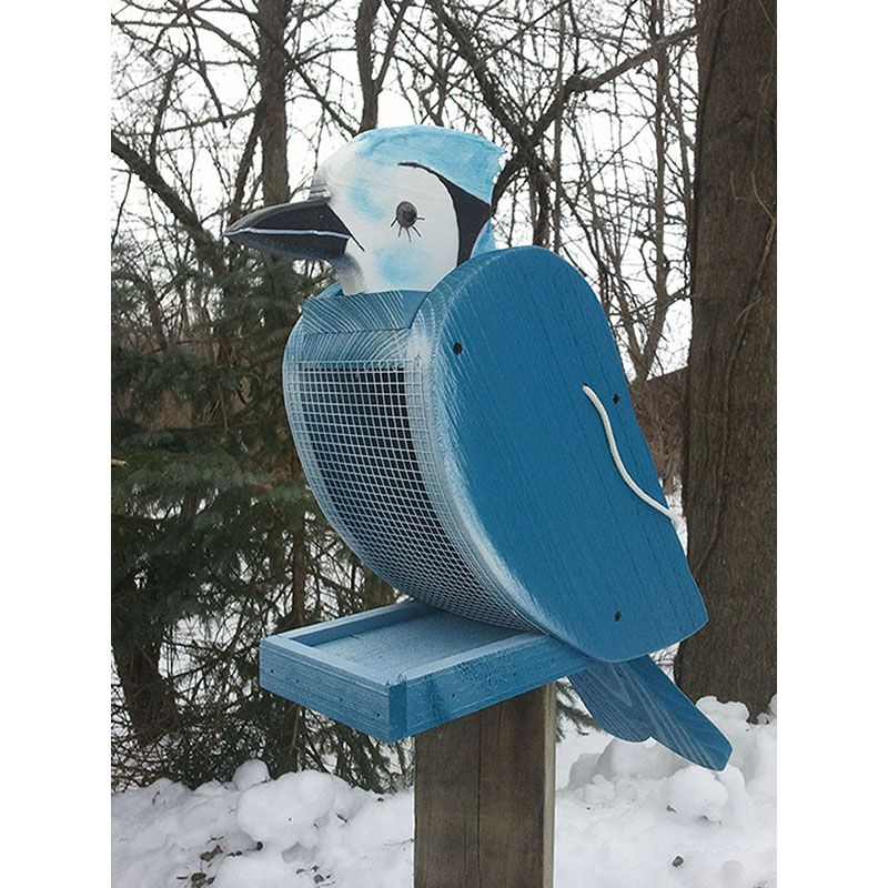 Bluejay Look-Alike Bird Feeder