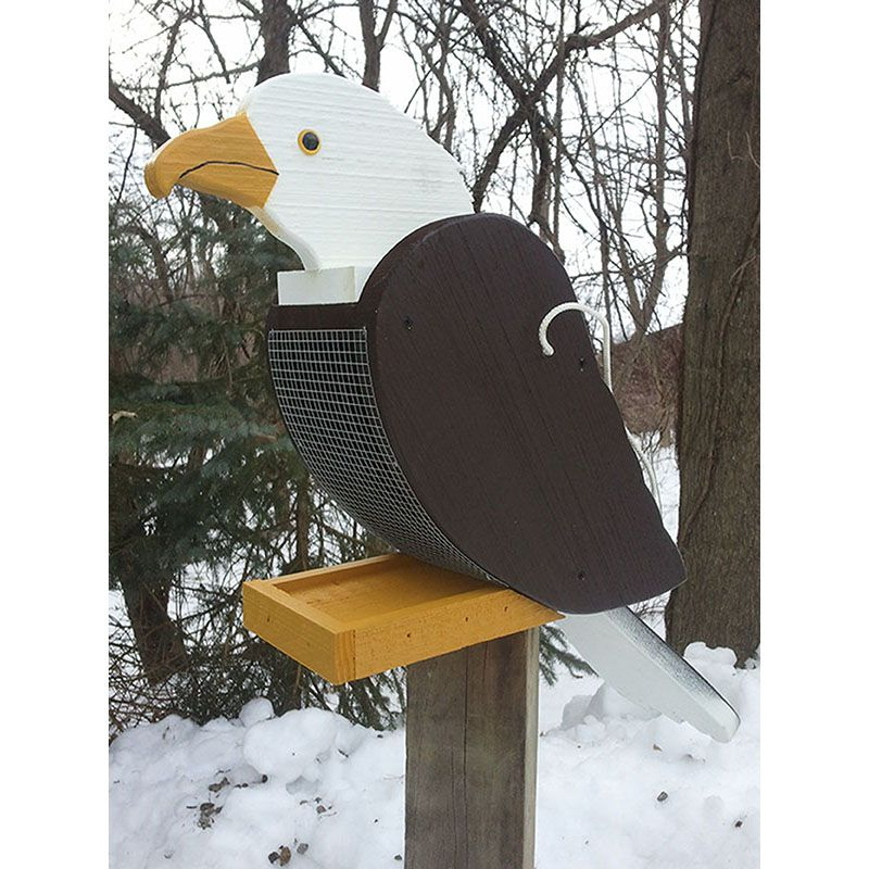 Bald Eagle Look-Alike Bird Feeder