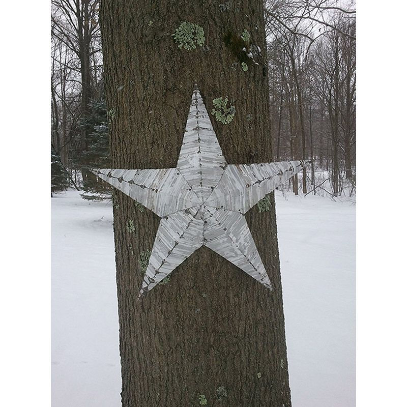 "24"" Handmade Tin Star"