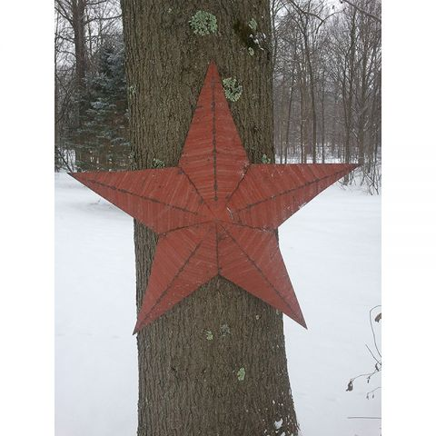"36"" Handmade Tin Star"